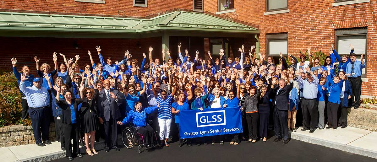 GLSS Employees Cheering