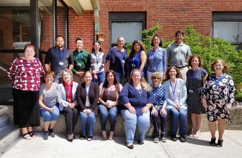 Some of the staff who participated in the NCQA accreditation process.