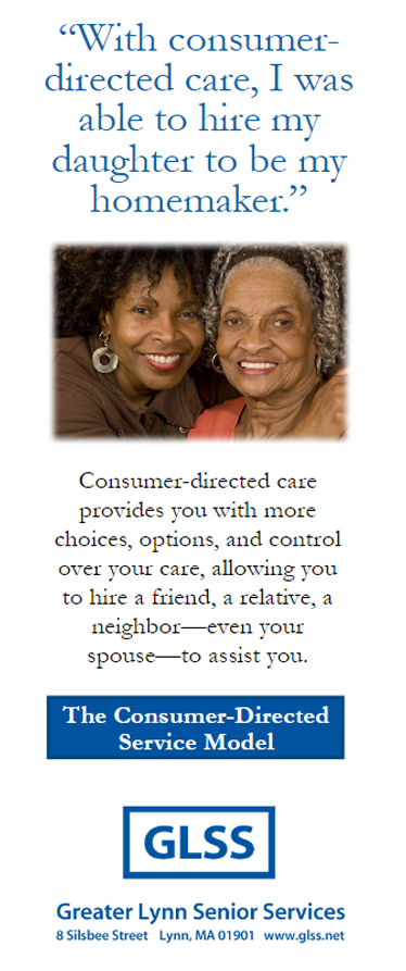 Consumer Directed Care English Brochure Cover