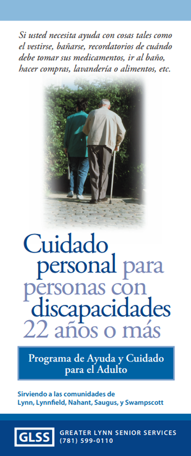 Spanish Group Adult Foster Care Program Brochure