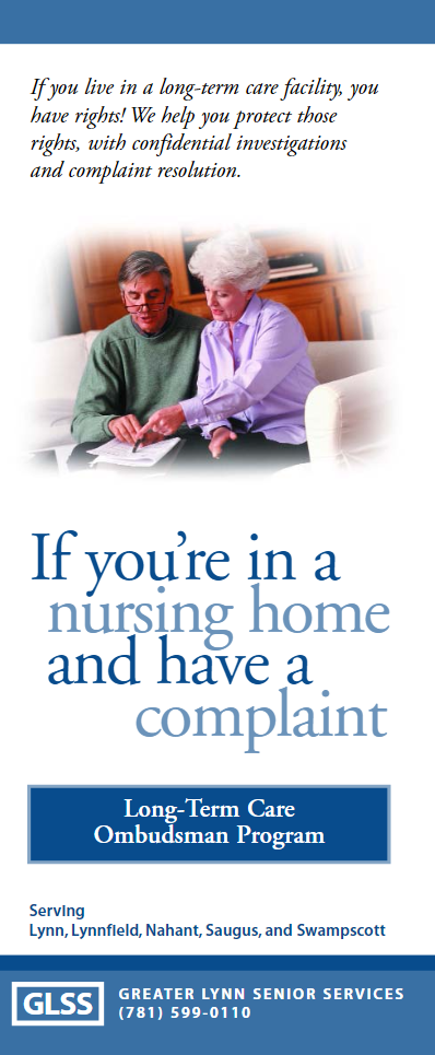 Long-Term Care Ombudsman Brochure